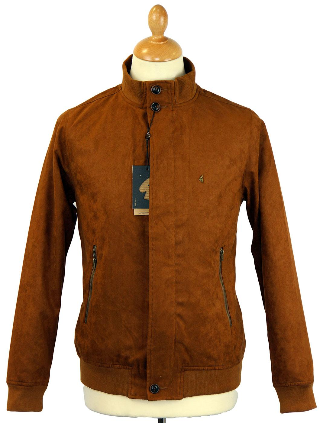 GABICCI VINTAGE Faux Suede Retro Mod Harrington