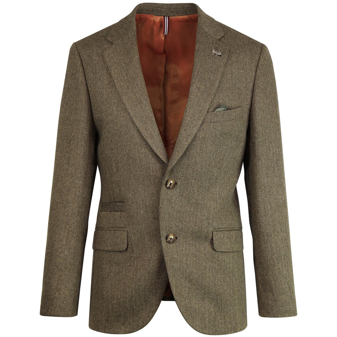 Towergate GIBSON LONDON Mod Herringbone Blazer (F)