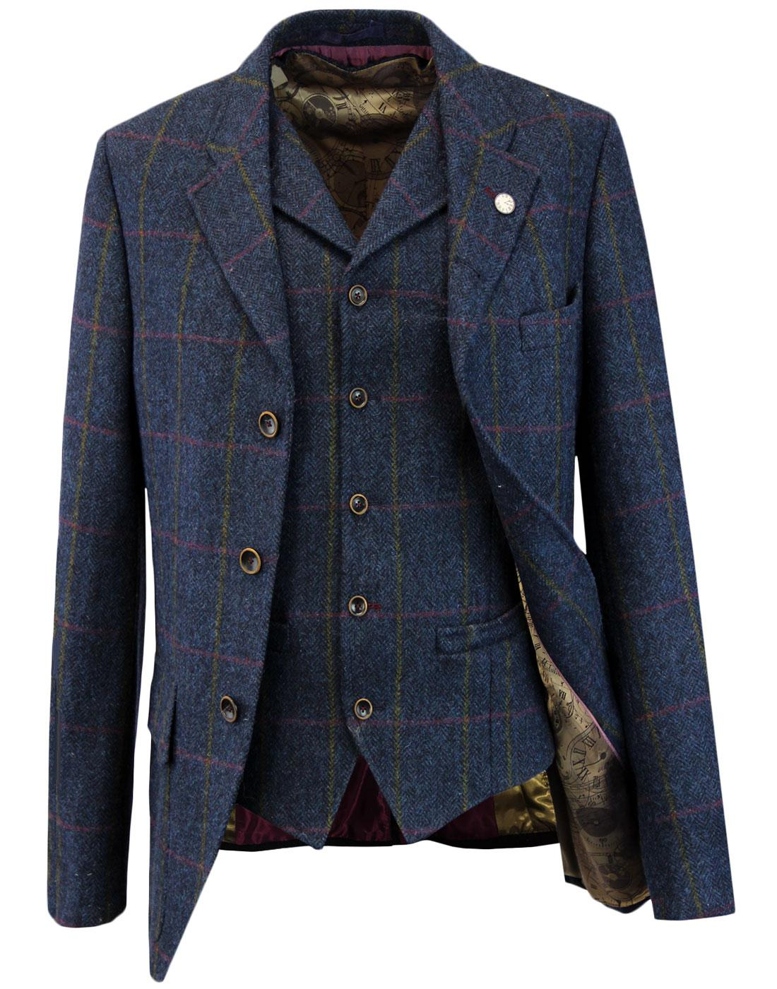 Grouse GIBSON LONDON Matching Blazer & Waistcoat N