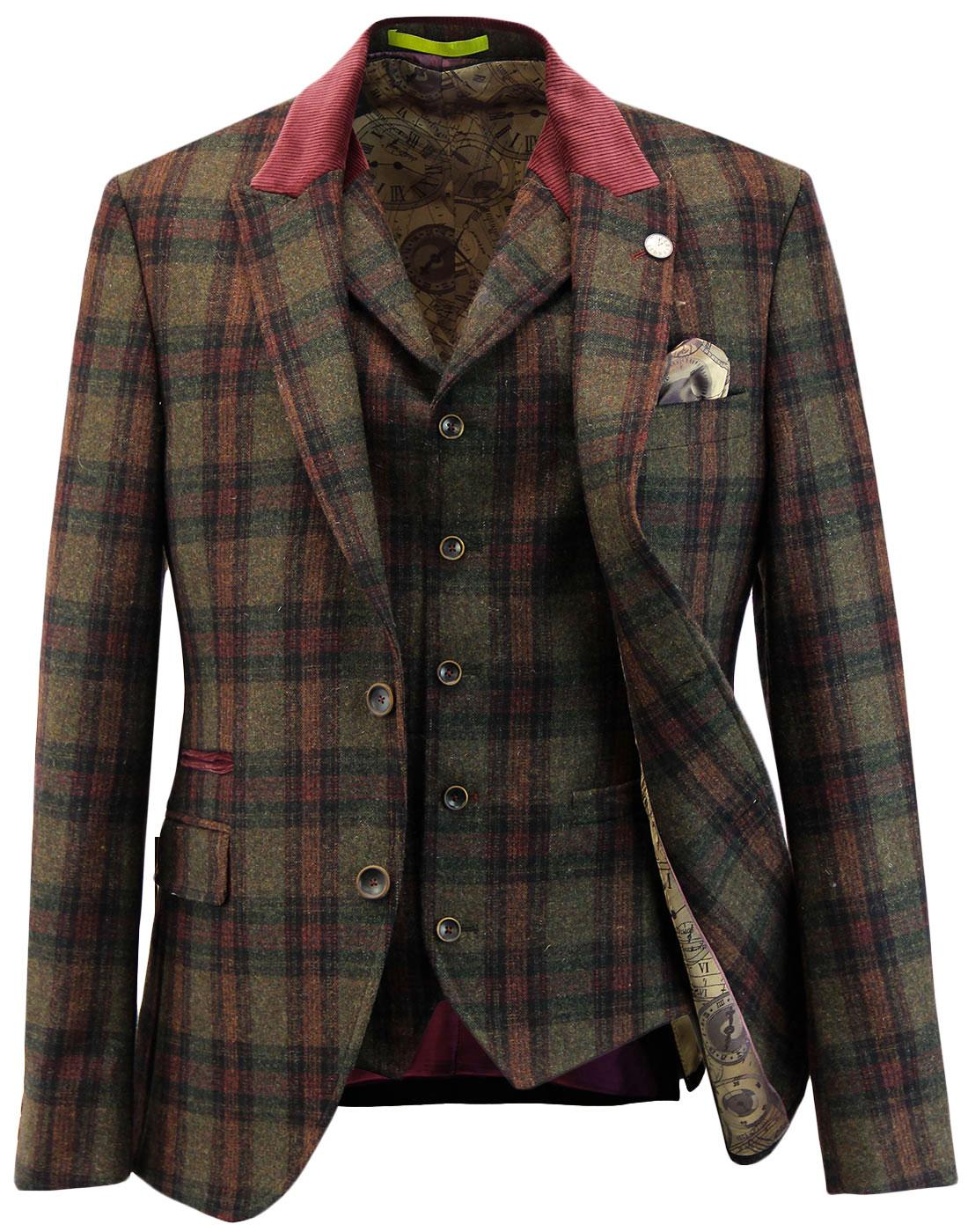 Temple GIBSON LONDON Matching Blazer & Waistcoat