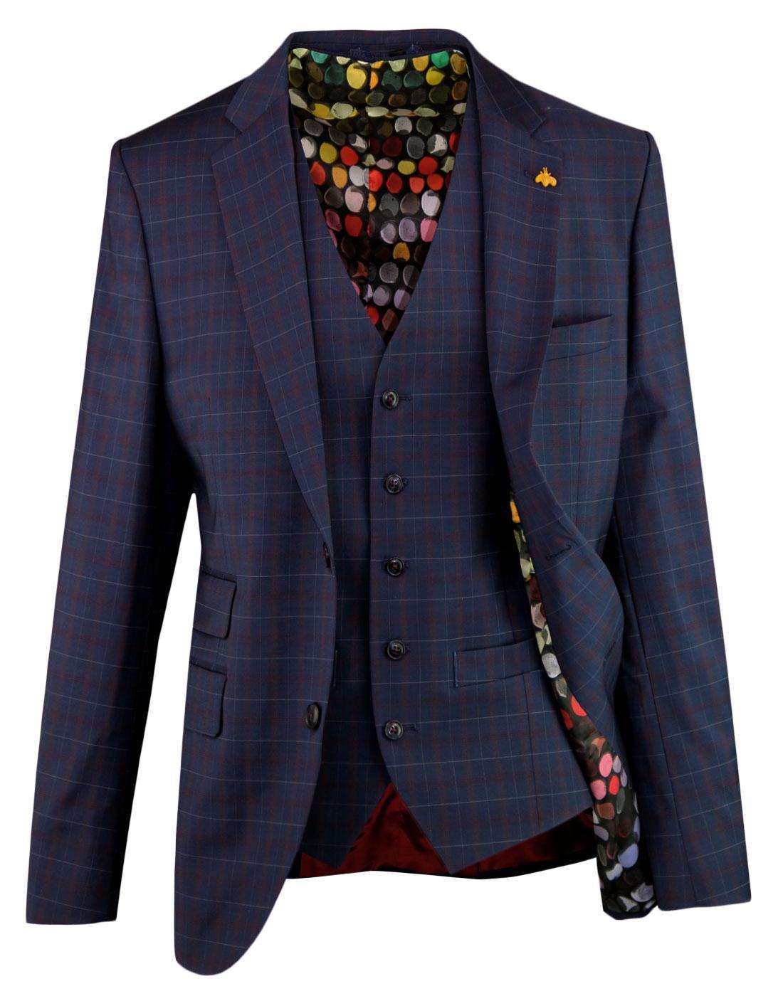 Marriott GIBSON LONDON Tartan Blazer & Waistcoat
