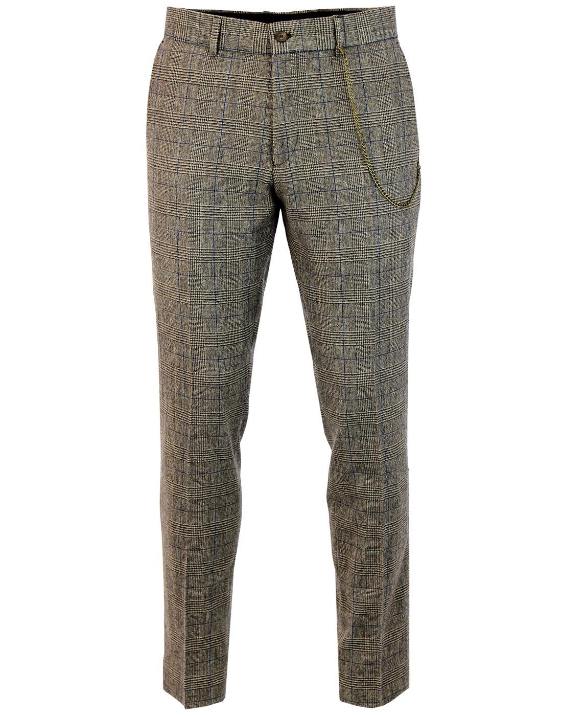 Towergate GIBSON LONDON Pow Check Suit Trousers