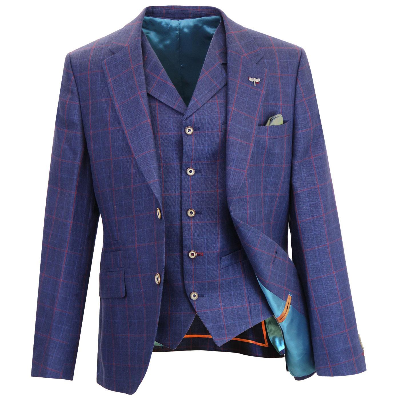 GIBSON LONDON Greenwich Matching Blazer Waistcoat