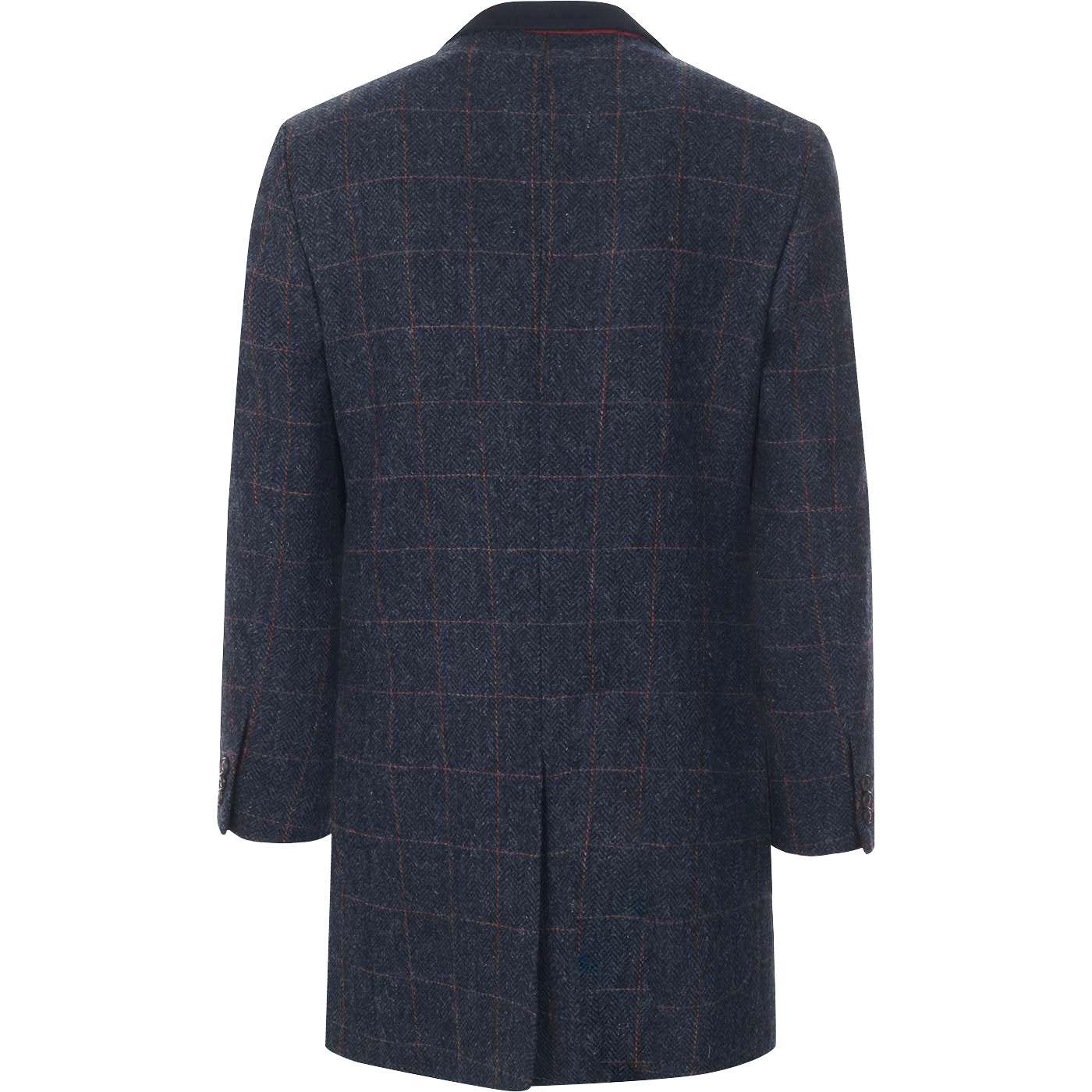 Winnie GIBSON LONDON Mod Shetland Check Dress Coat