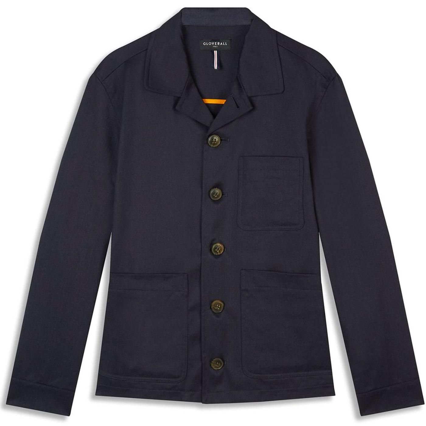 Harry GLOVERALL Mod Made in England Work Jacket N