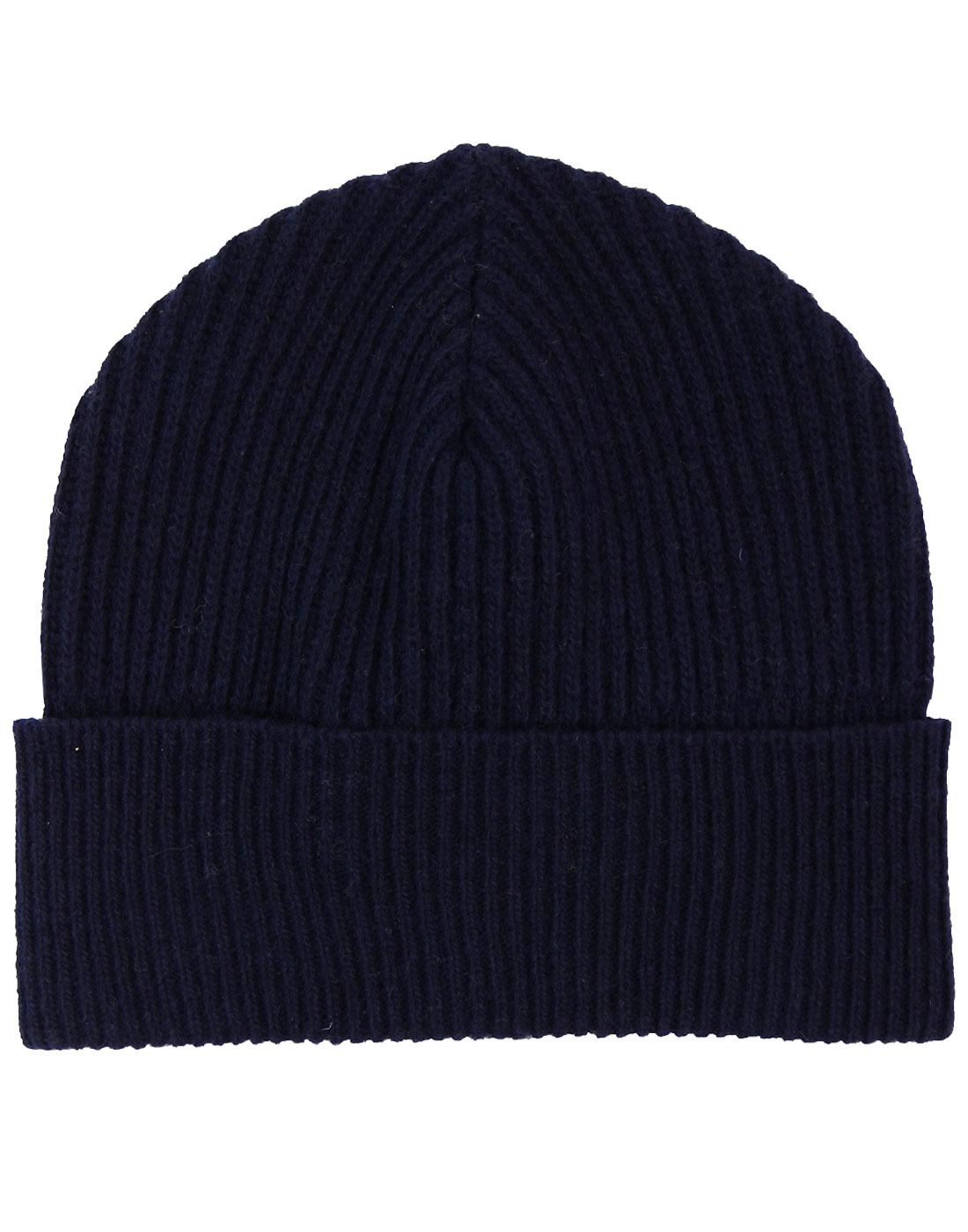 GLOVERALL Retro Knitted Lambswool Fisherman's Hat