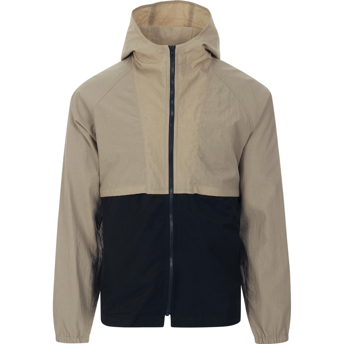 GLOVERALL X LES BASICS Le Short Hooded Jacket N