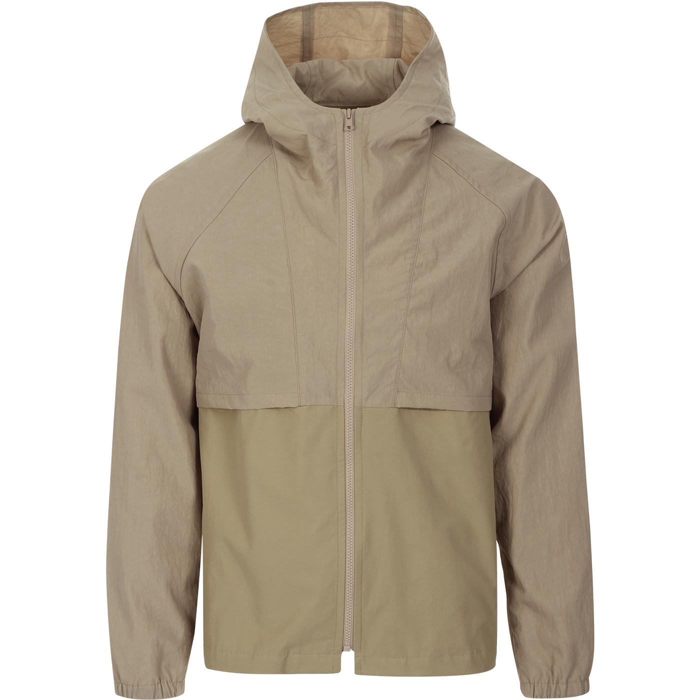 GLOVERALL X LES BASICS Le Short Hooded Jacket S