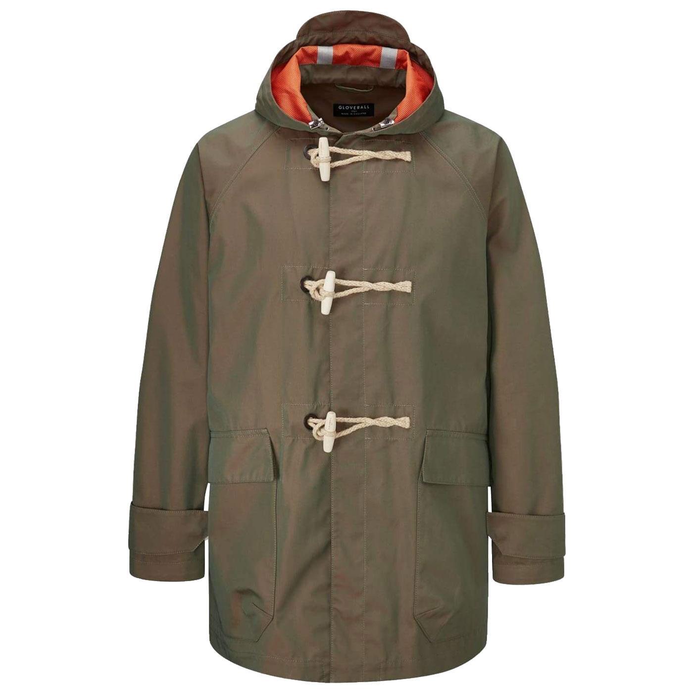 Mersey GLOVERALL Mod Lightweight Tonic Duffle Coat