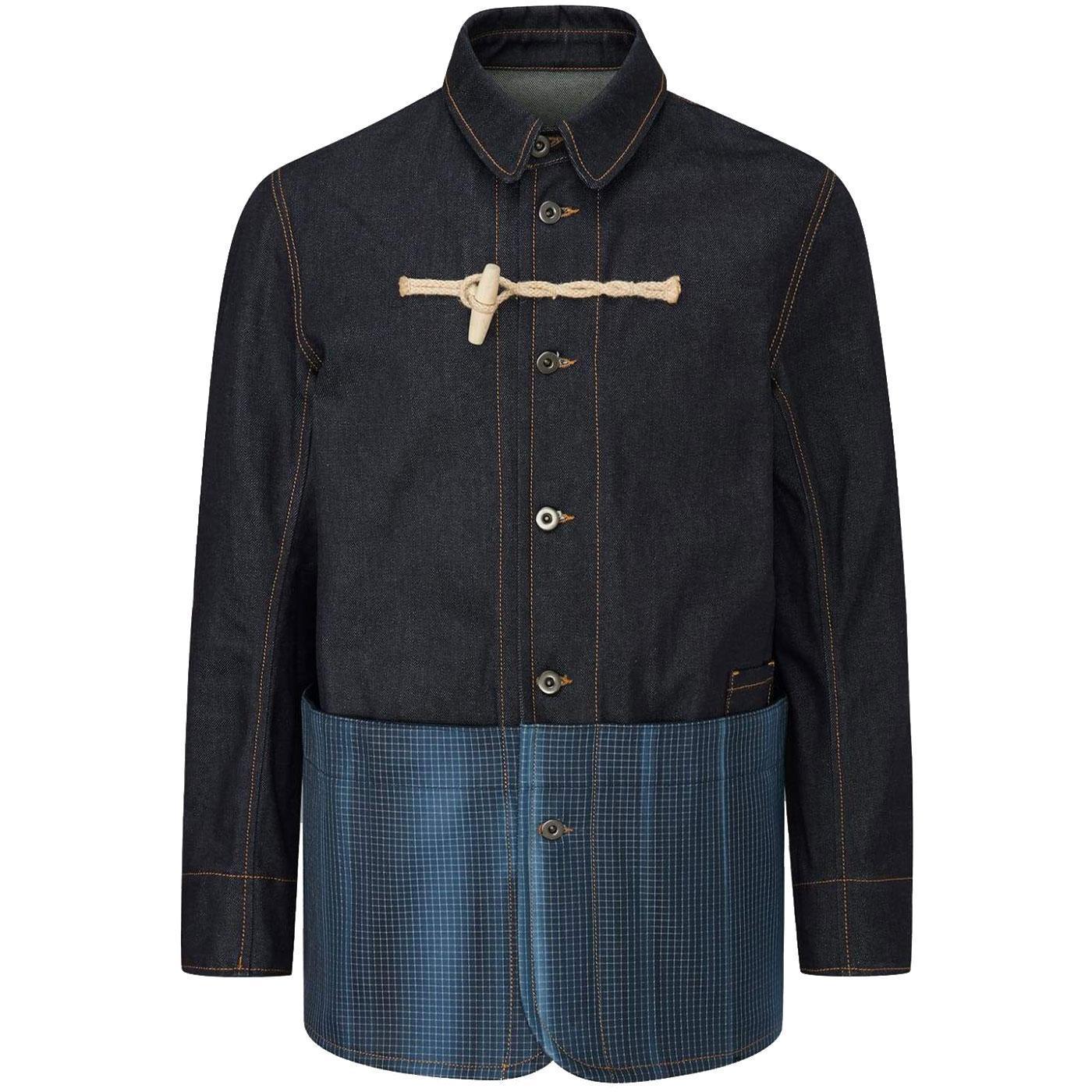 GLOVERALL X ULLAC Men's Denim Painter Jacket
