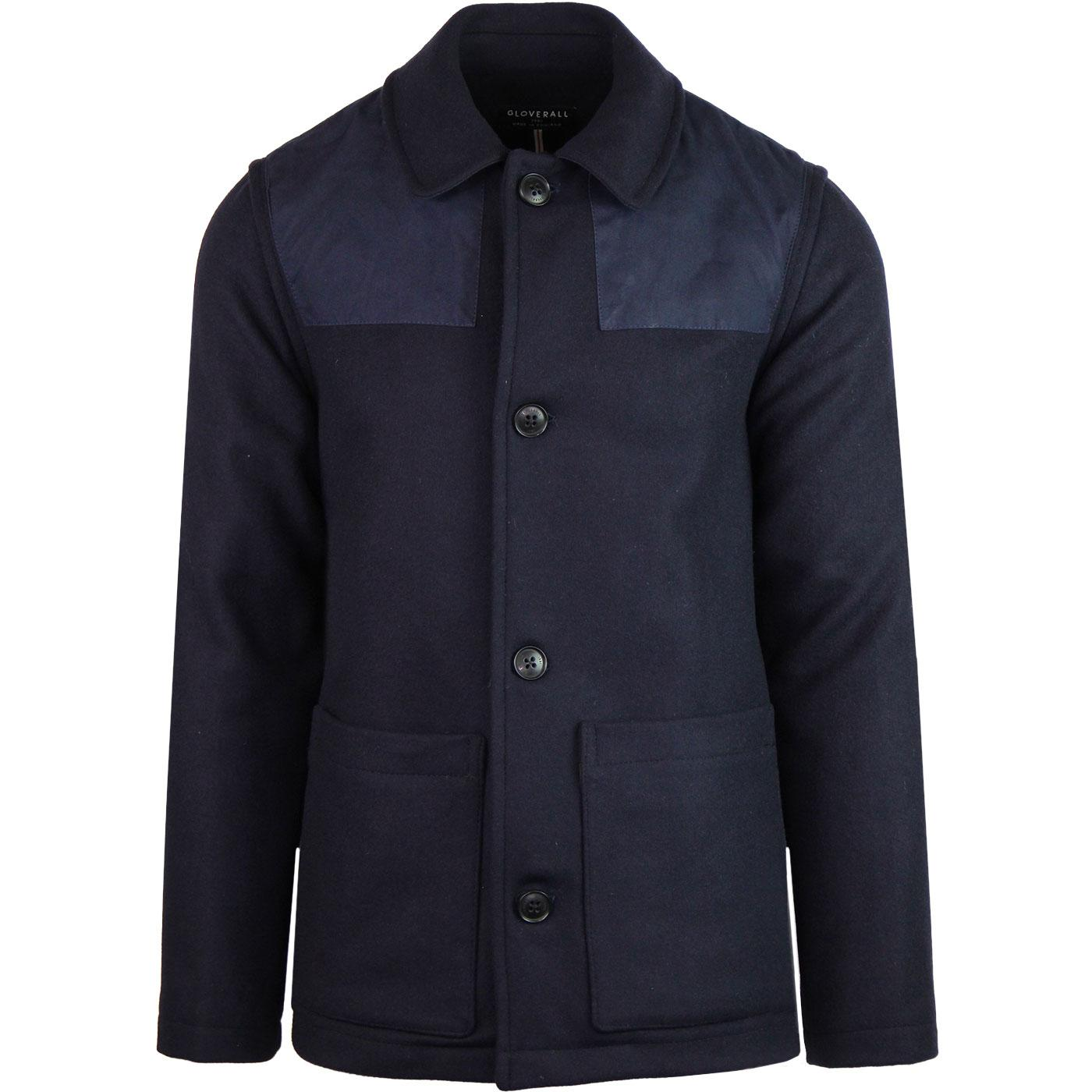 Collins GLOVERALL Made in England Donkey Jacket