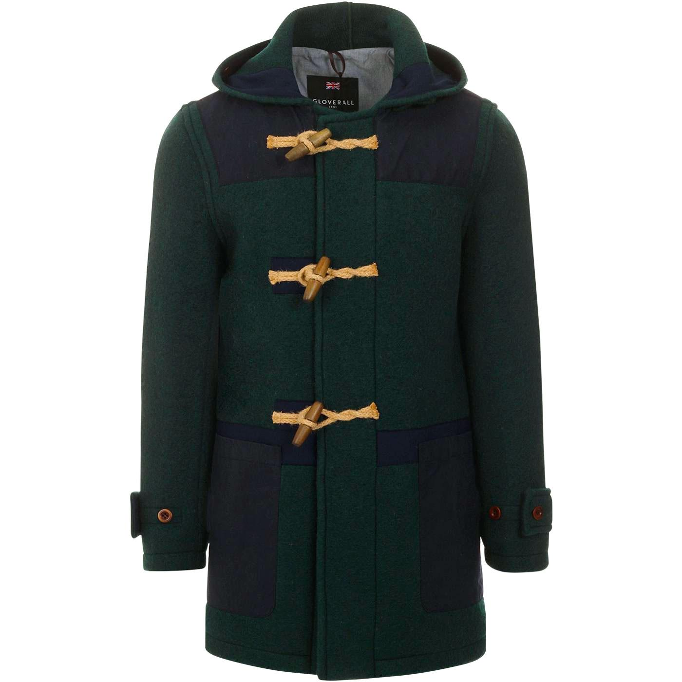Yarmouth Monty GLOVERALL Wax Patch Duffle Coat MG