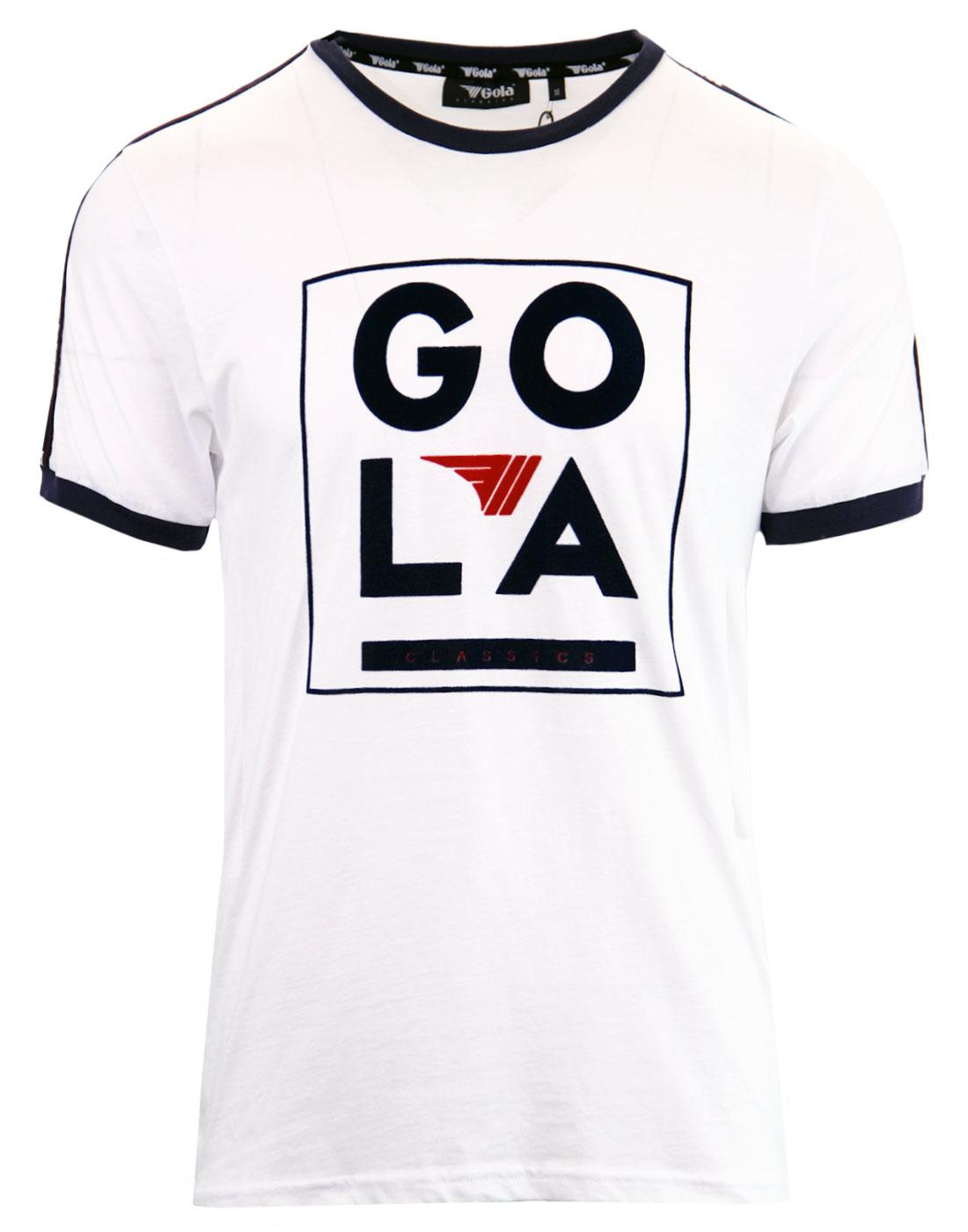 Gowling GOLA CLASSICS Taped Sleeves Ringer Tee (W)