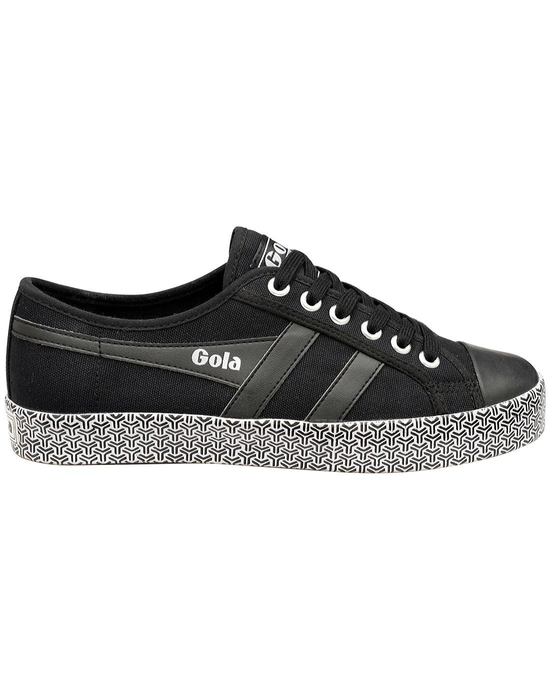 Coaster Metric GOLA Womens Retro Canvas Trainers