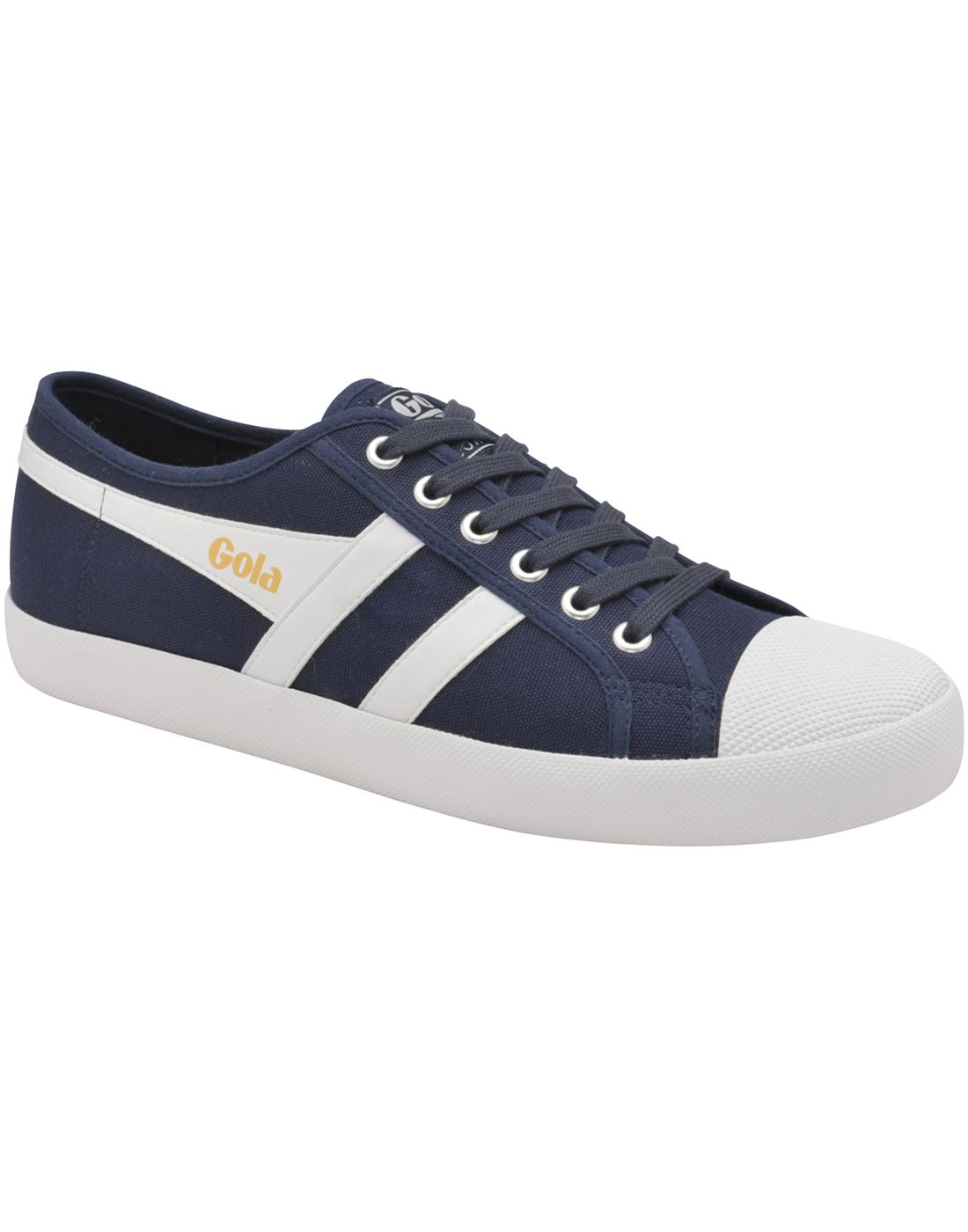 Coaster GOLA Mens Retro 70s Canvas Trainers (NWR)
