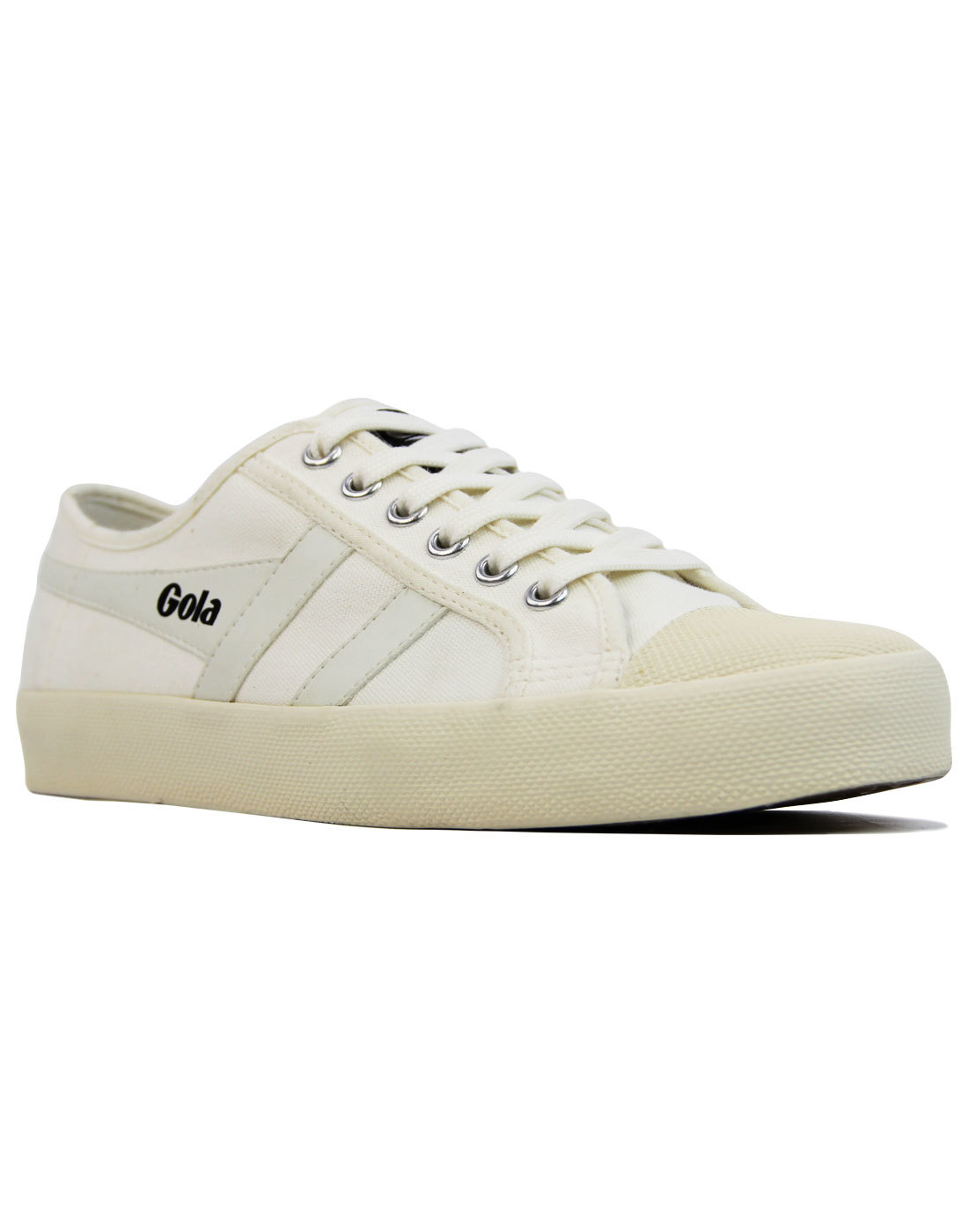 Coaster GOLA Womens Retro 70s Canvas Trainers (OW)