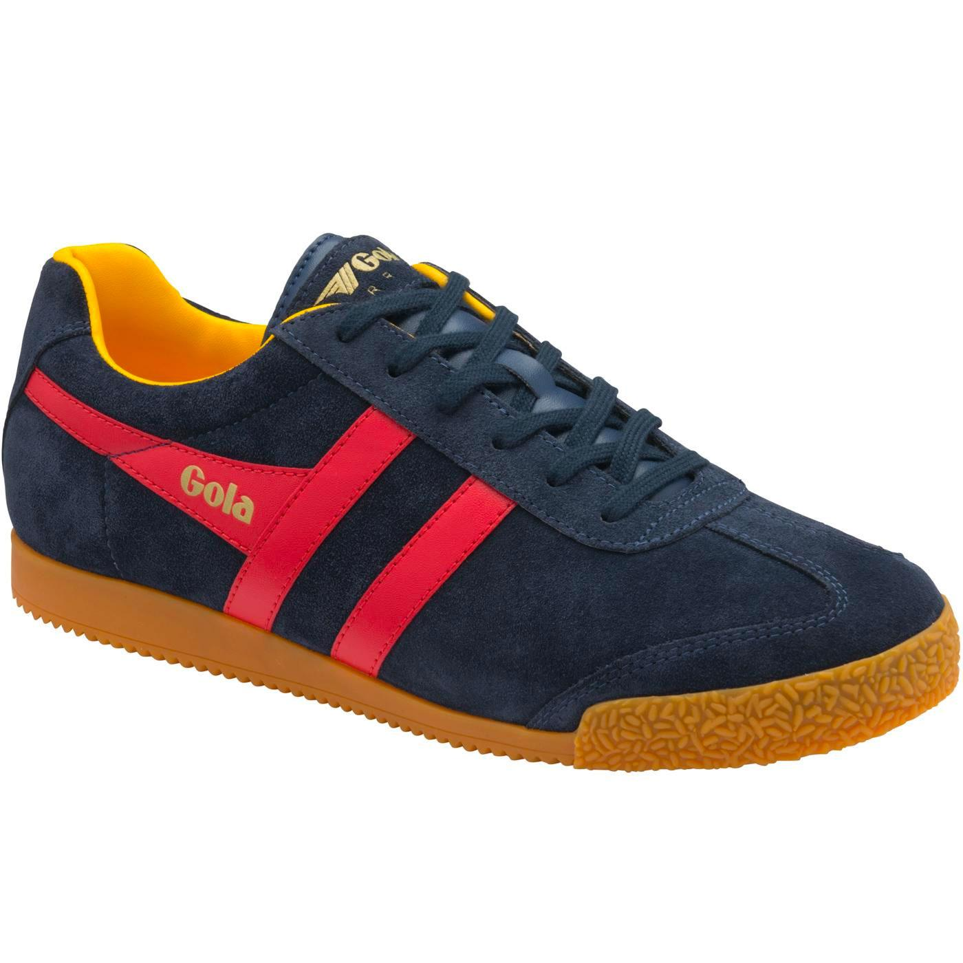 GOLA Harrier Suede Women's Retro Trainers (N/R/S)