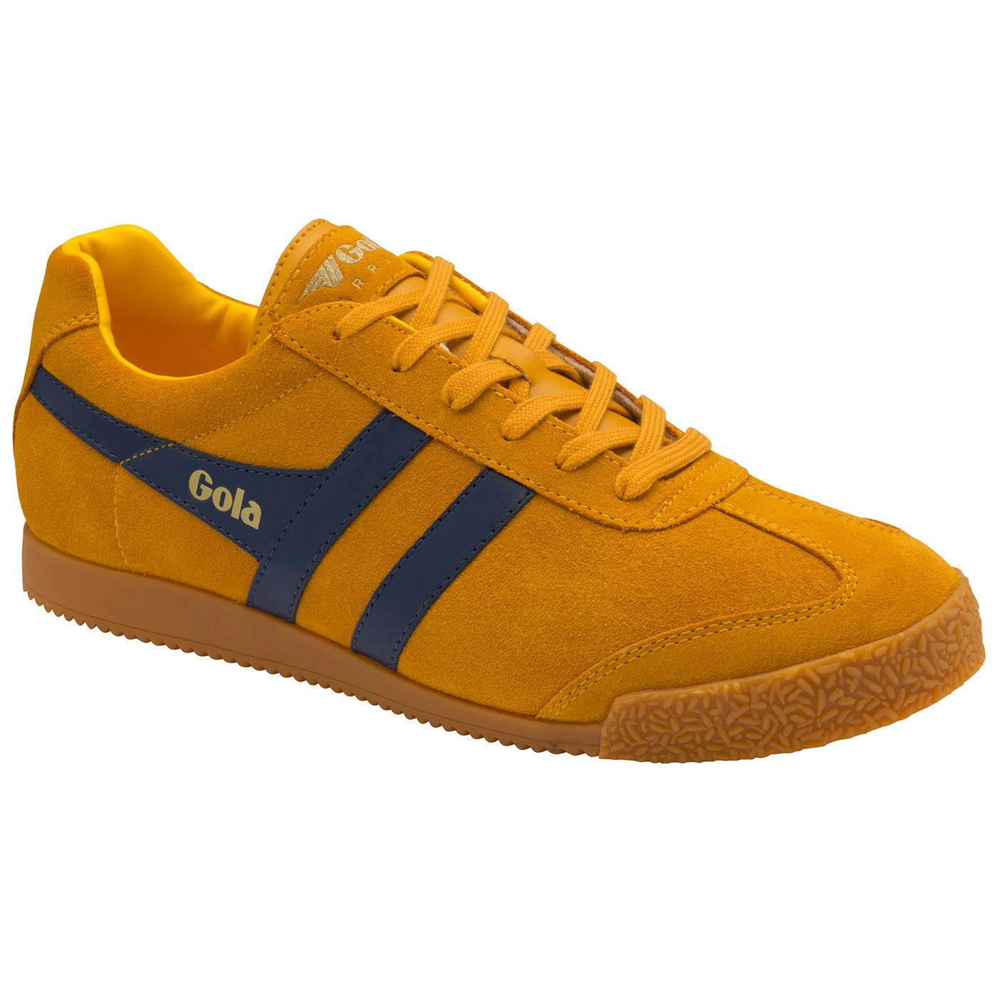 Harrier Suede GOLA Womens Retro 90s Trainers (S/N)