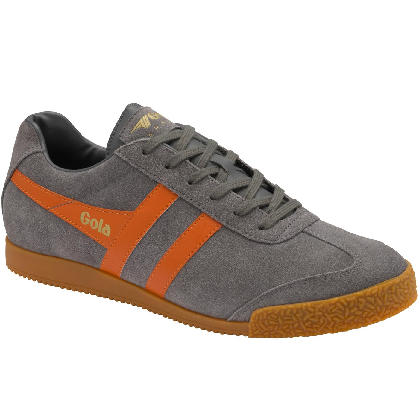 GOLA Harrier Suede Mens Retro 70s Trainers (A/MG)