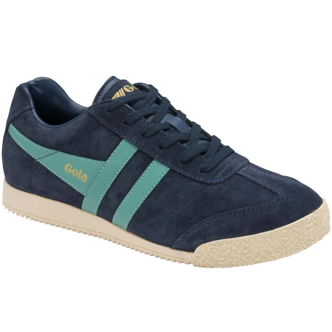GOLA Harrier Women's Retro Suede Trainers (N/SM)