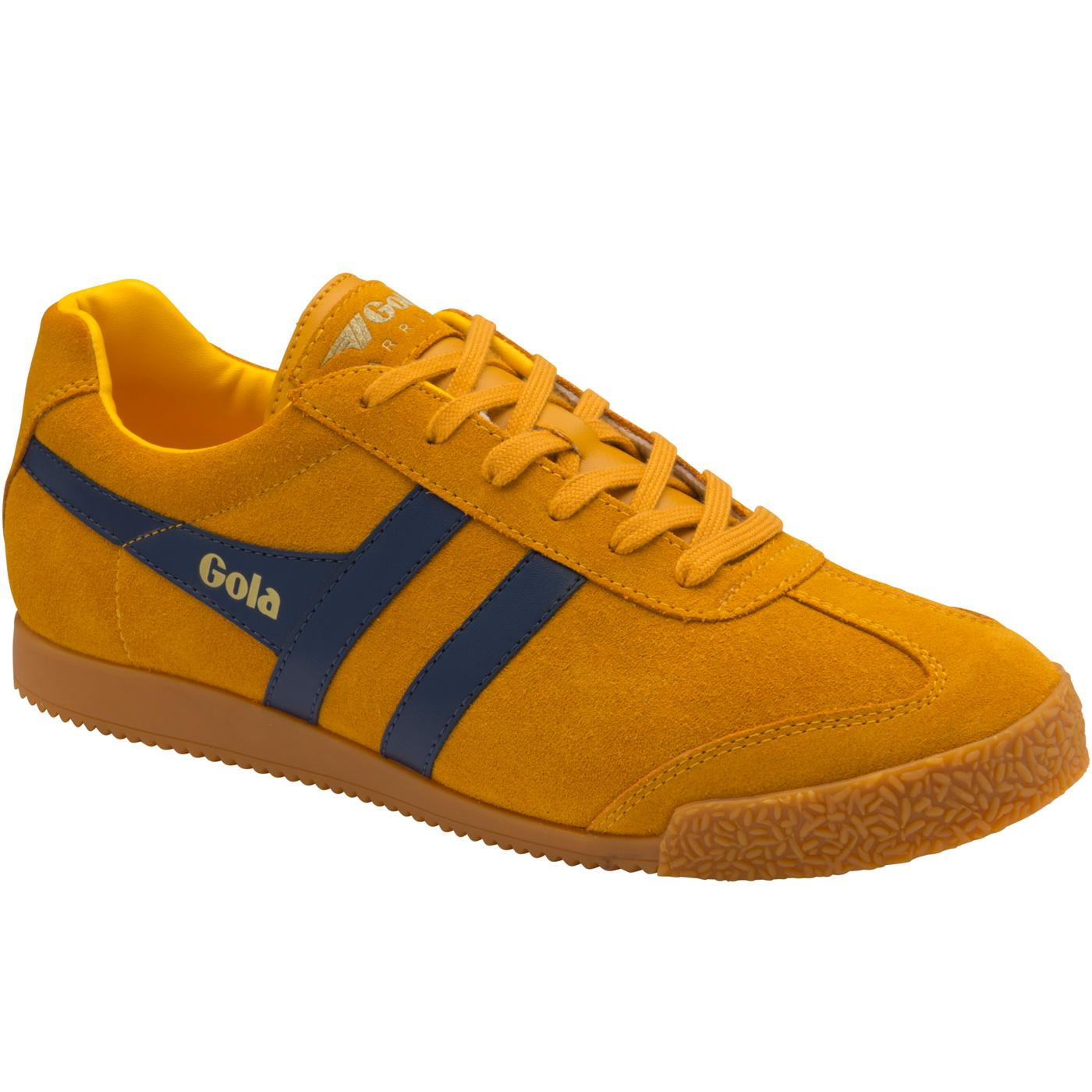 GOLA Harrier Suede Mens Retro 1970s Trainers (S/N)