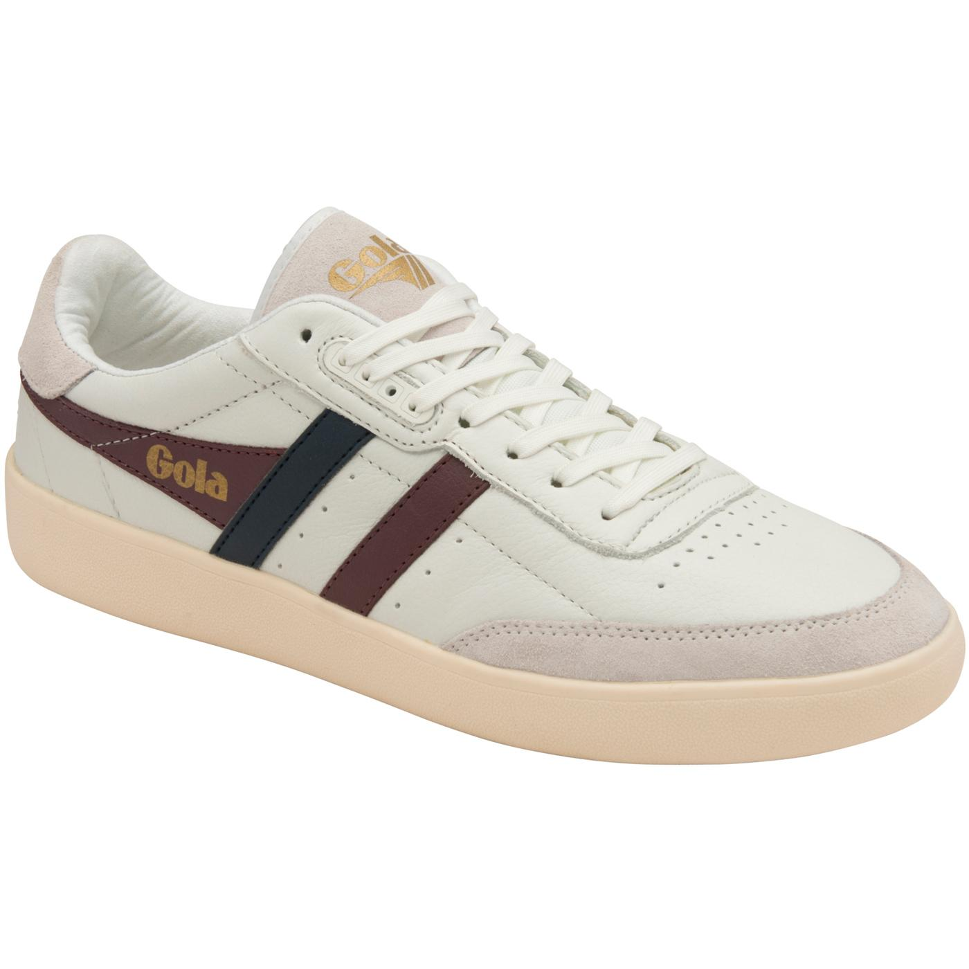 Inca GOLA CLASSICS Mens Leather Court Trainers W/B
