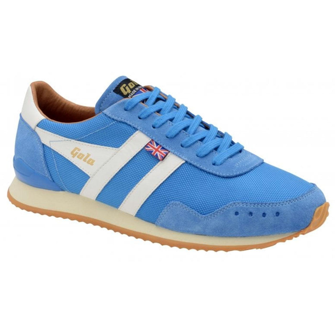 Track Mesh GOLA Made in England Trainers SANTORINI