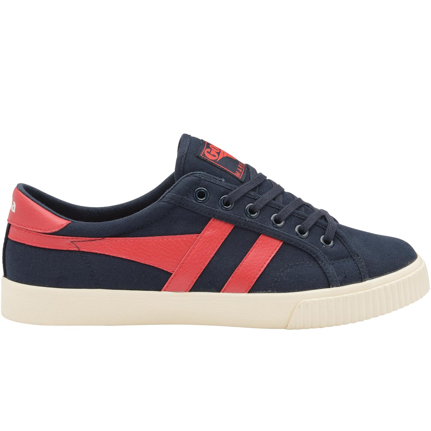 GOLA Mark Cox Retro 70s Canvas Tennis Trainers N/R