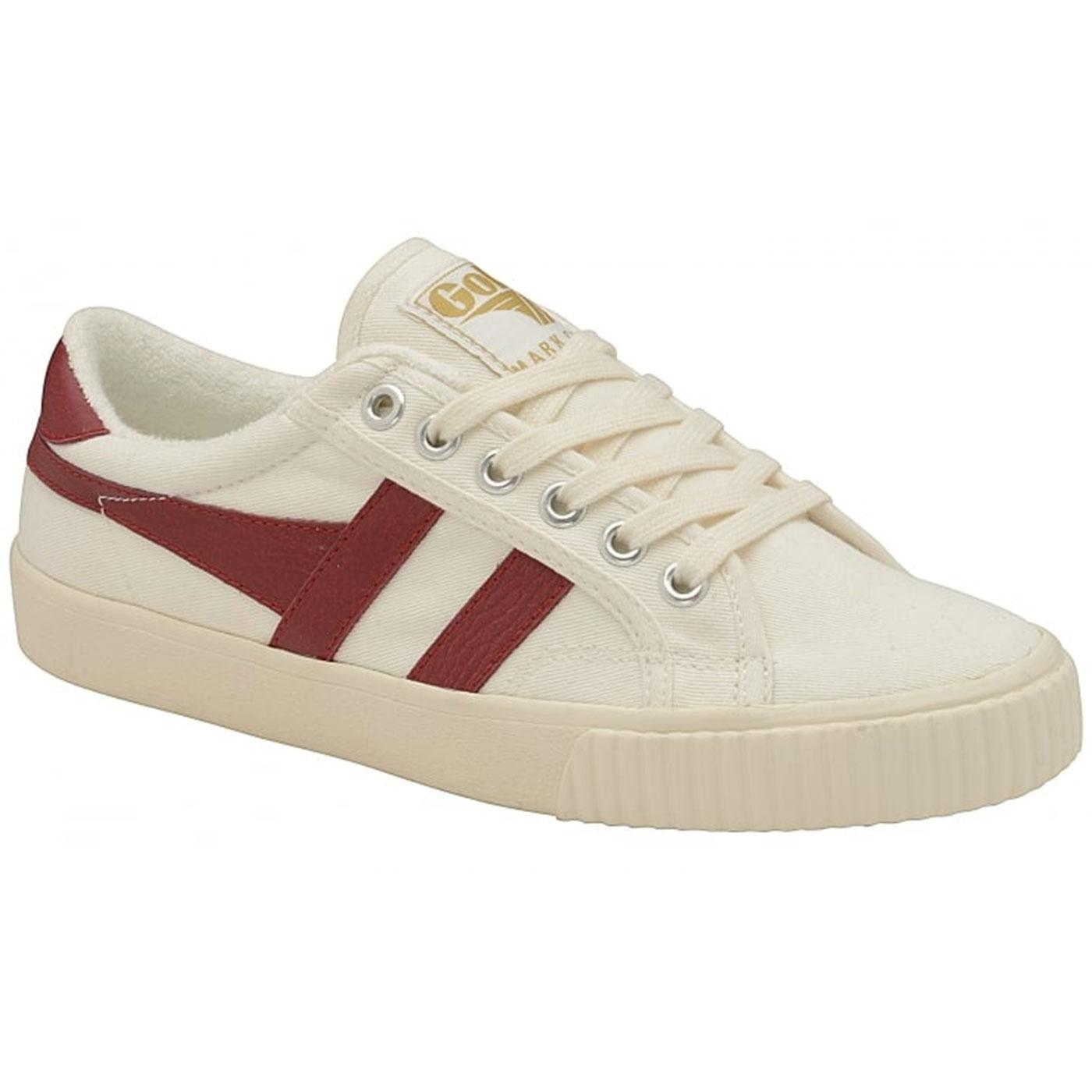 GOLA Mark Cox Retro 70s Canvas Tennis Trainers W/R