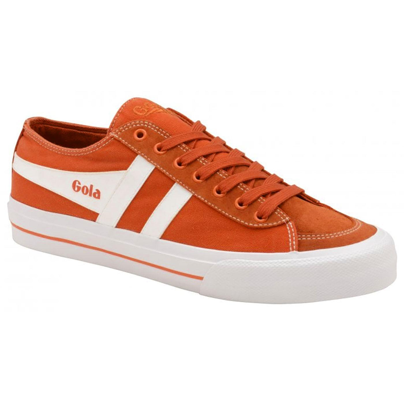 Quota II GOLA Men's Retro Washed Canvas Trainers O