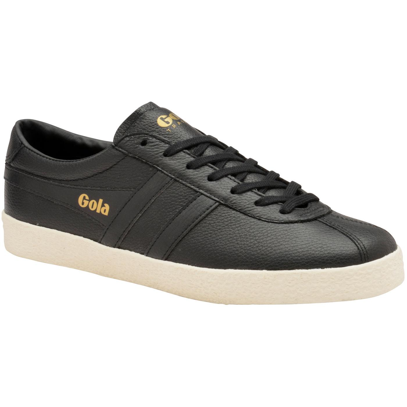 Trainer GOLA Retro 1960s Leather Trainers (Black)