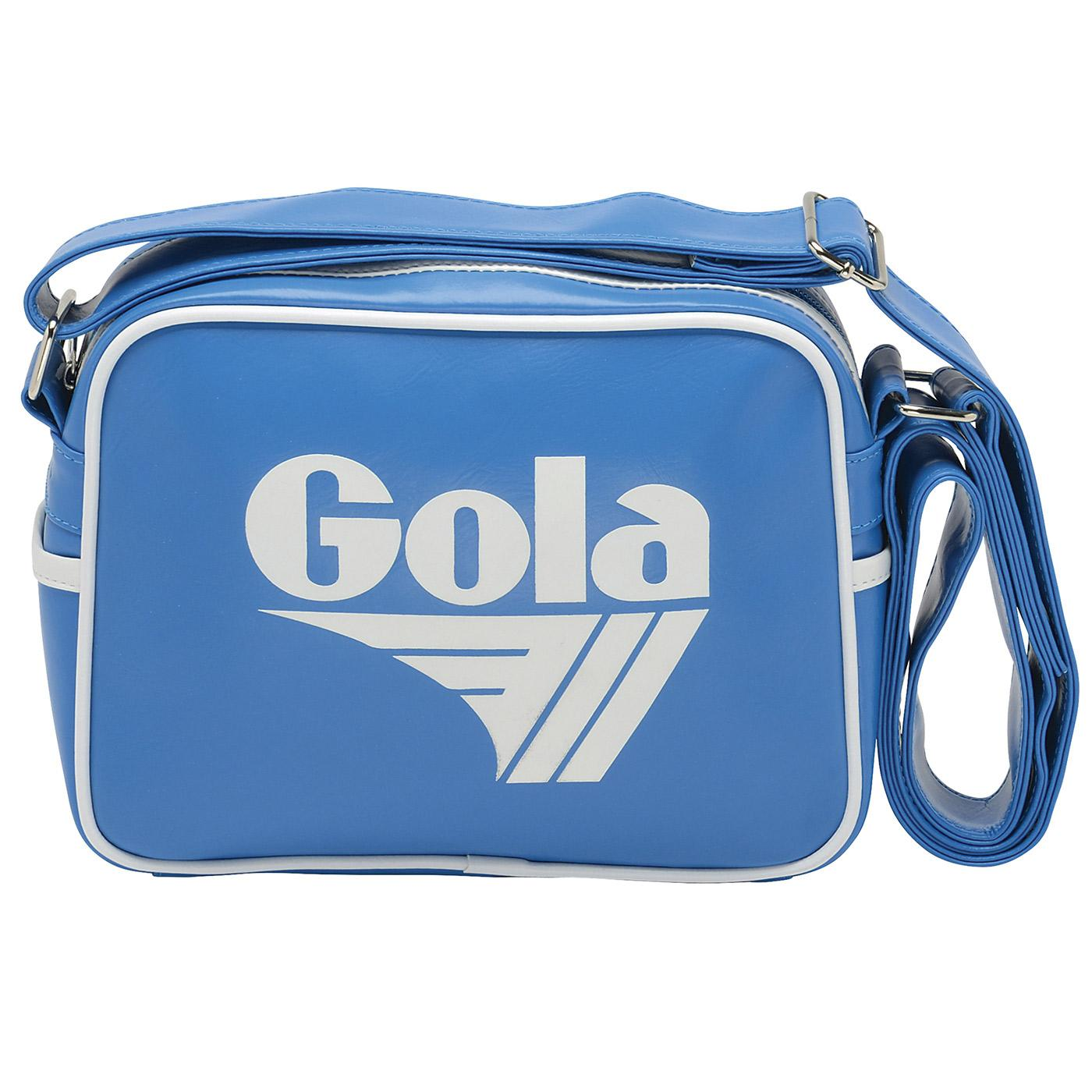 GOLA Micro Redford Retro Shoulder Bag (Blue/White)