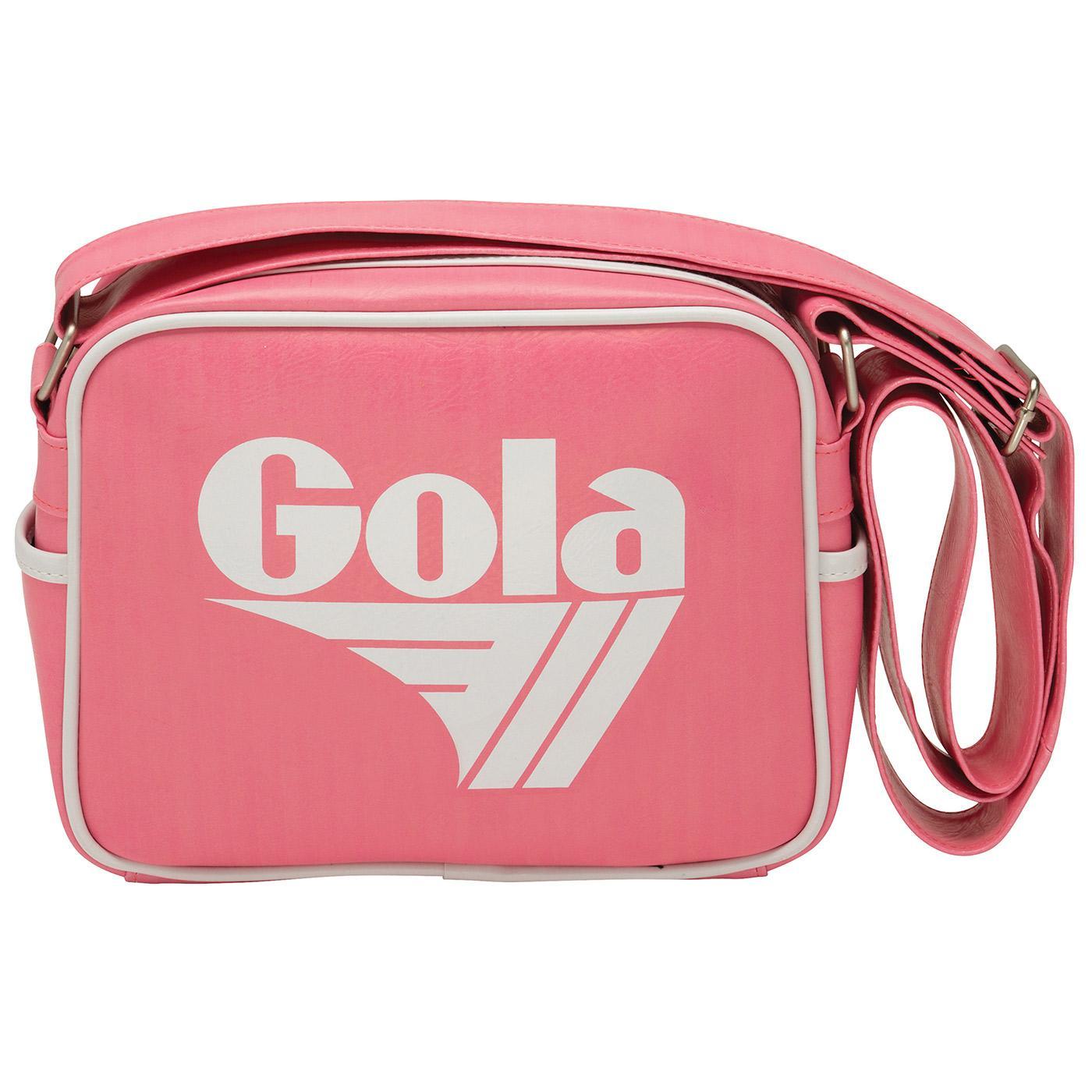 GOLA Micro Redford Retro Shoulder Bag (Pink/White)