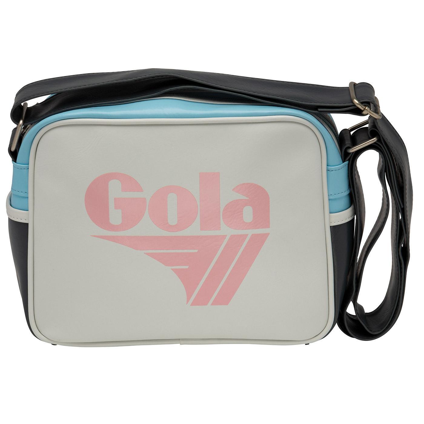 GOLA Micro Redford Retro Shoulder Bag (White/Pink)