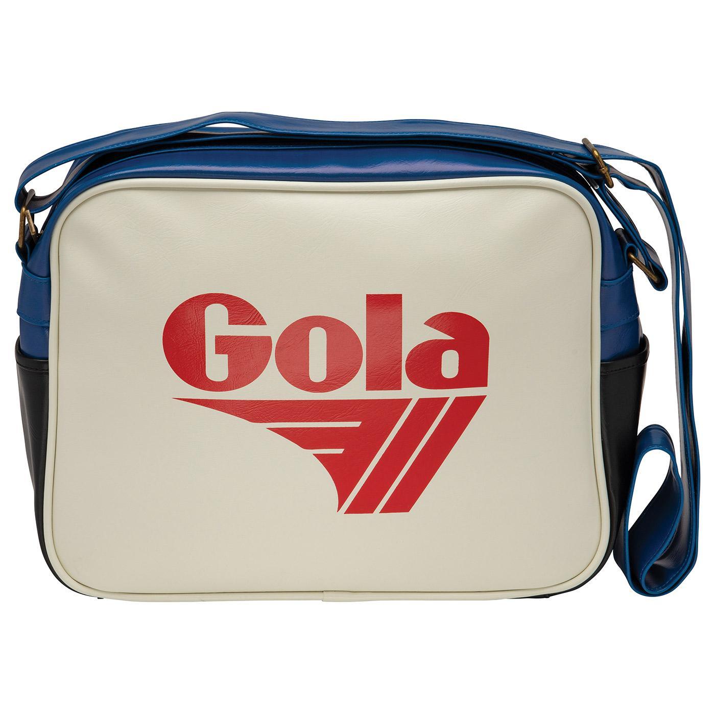 GOLA Redford Retro 1970s Shoulder Bag (OW/DR)