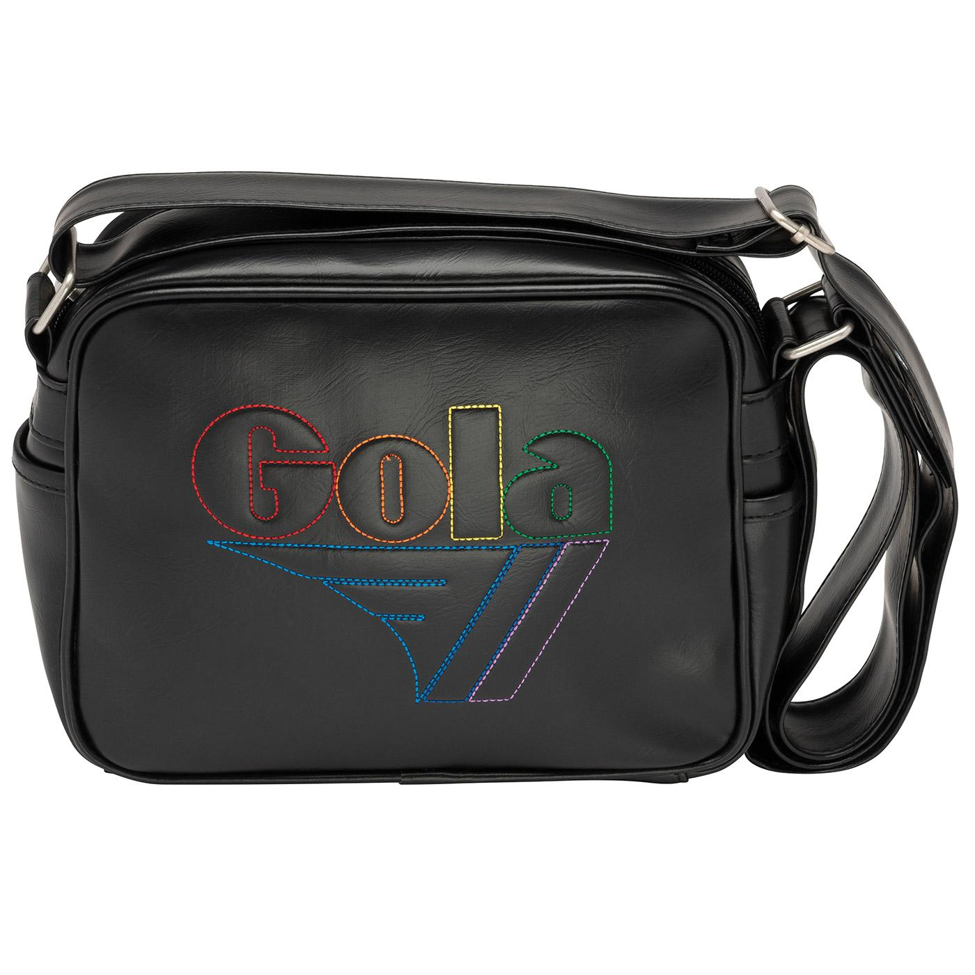 GOLA Redford Rainbow Stitch Retro 70s Shoulder Bag