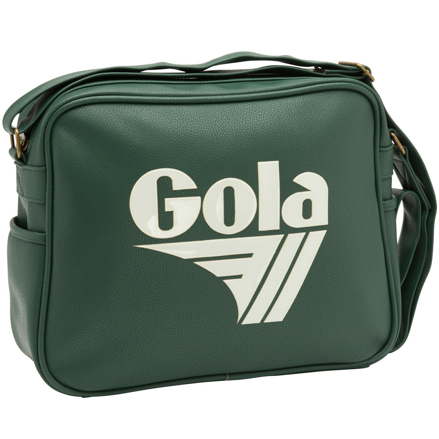 Redford Tournament GOLA Retro Messenger Bag GREEN