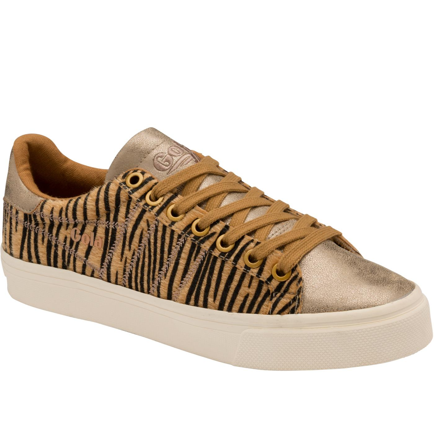 Orchid II GOLA Women's Retro Trainers (Tiger/Gold)