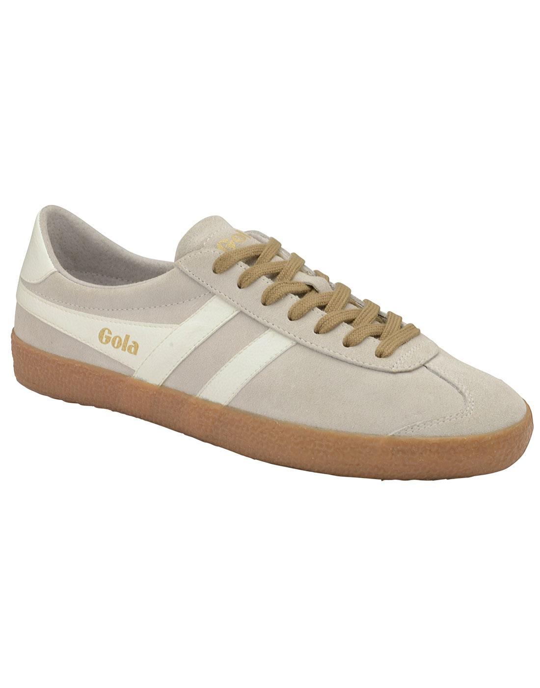 Specialist GOLA Retro 1970s Suede Trainers (OW/G)