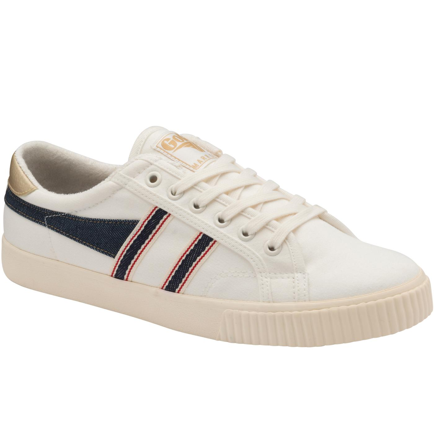 GOLA Tennis Mark Cox Selvedge 70s Trainers (OW/I)