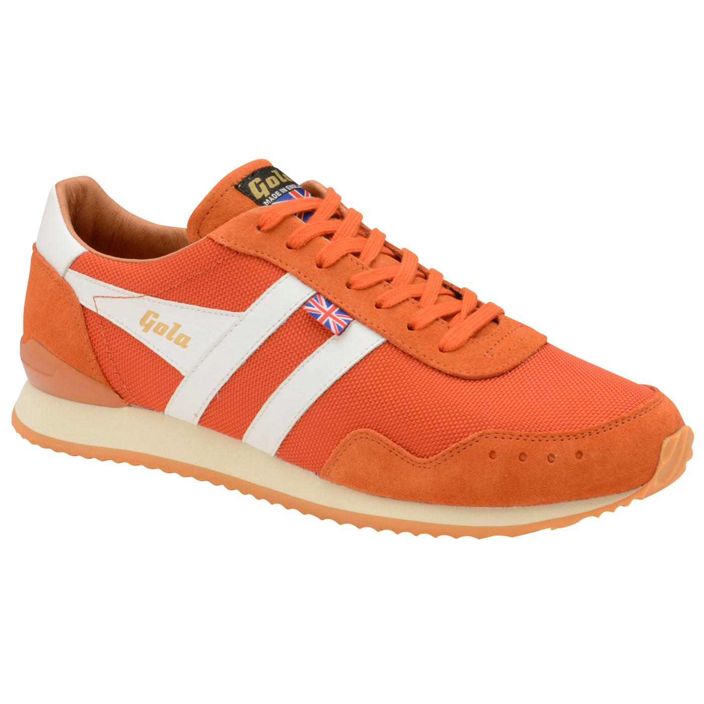 Track Mesh GOLA Made in England Retro Trainers MO