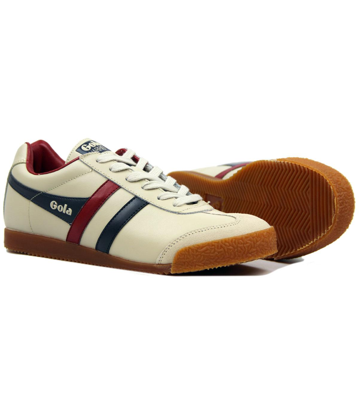 Retro 70s Indie Leather Suede Trainers