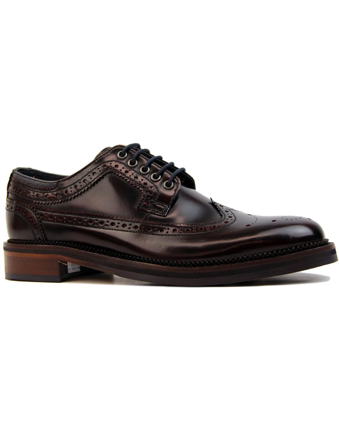 Goodwin Smith Walker Mod Rub Off Hi Shine Brogues Shoes