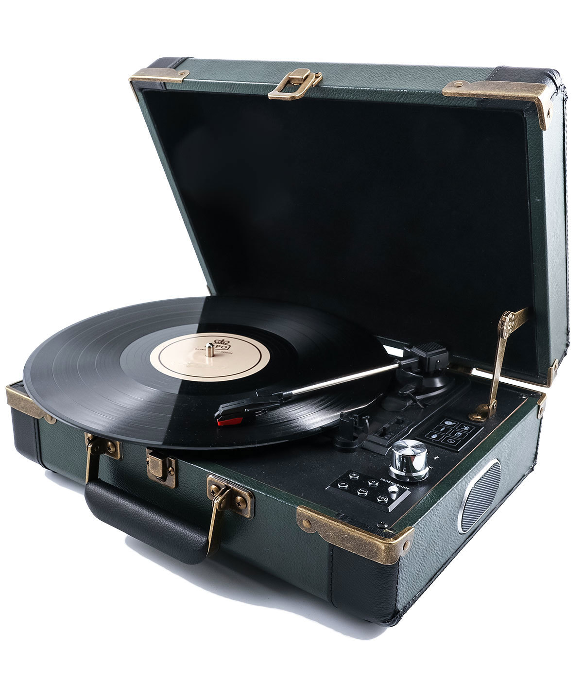 Gpo Retro Vintage 60s Style Bluetooth Portable Record Player