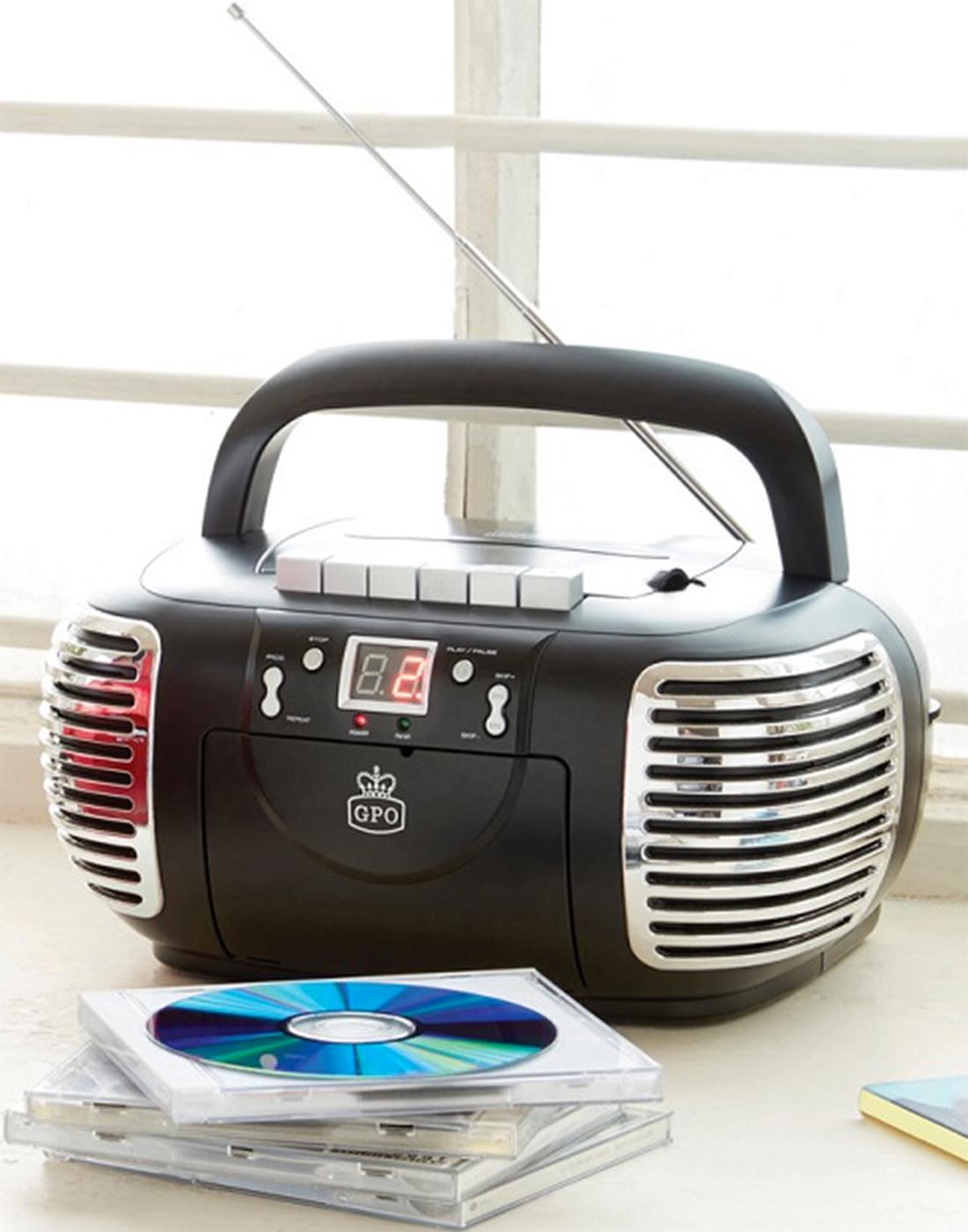 GPO RETRO PCD 299 3-in-1 Cassette, CD & Radio B