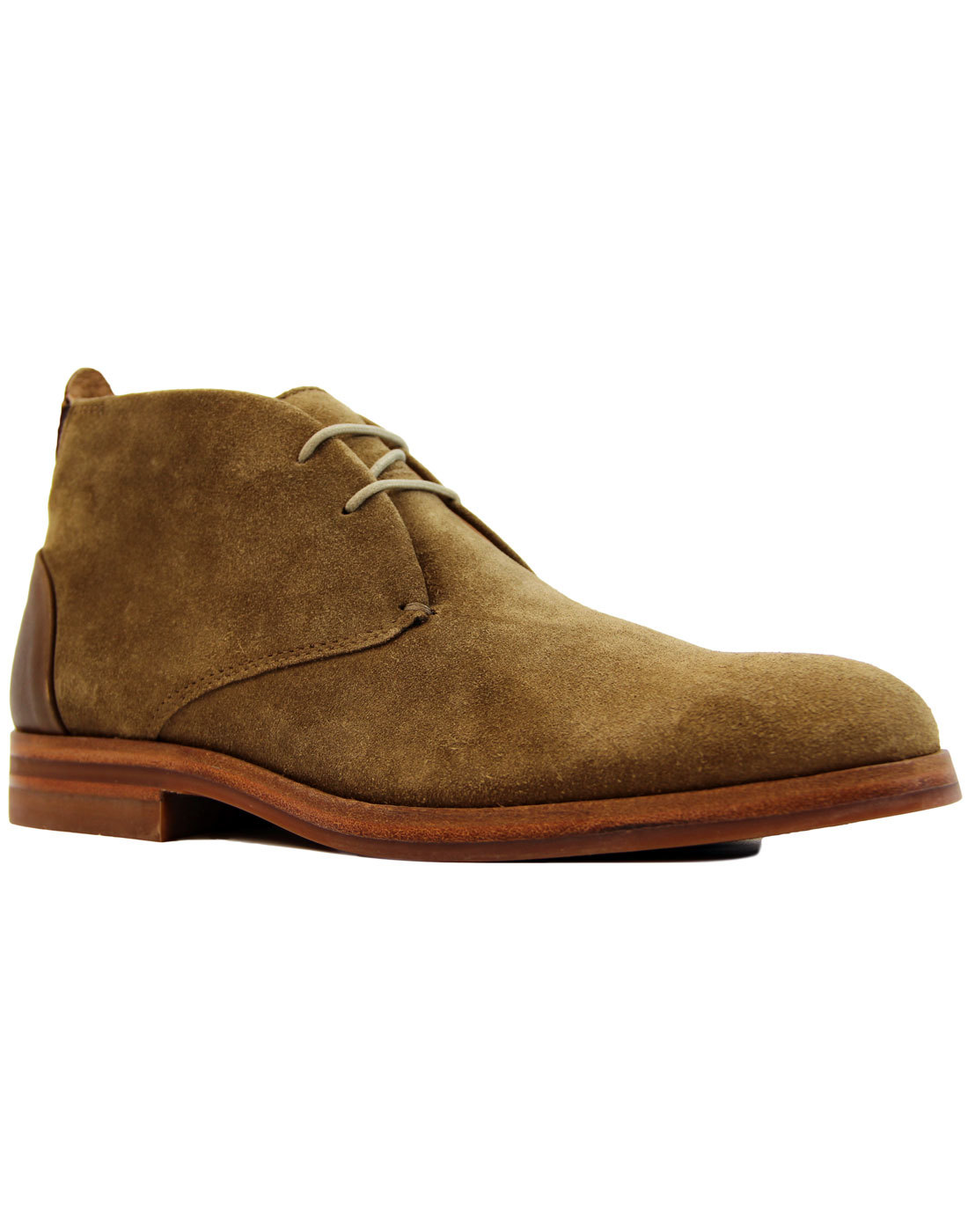 Matteo H by HUDSON Mod Tobacco Suede Chukka Boots