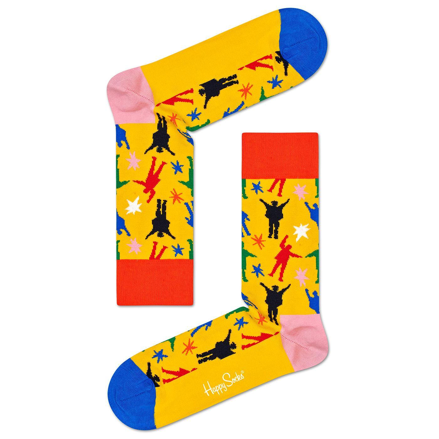 + HAPPY SOCKS x THE BEATLES Helping Hands Socks