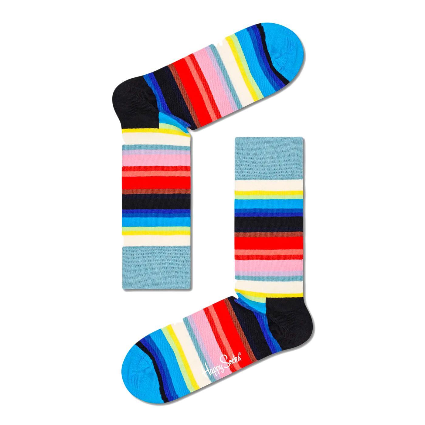 + HAPPY SOCKS Women's Gradient Stripe Socks (DE)