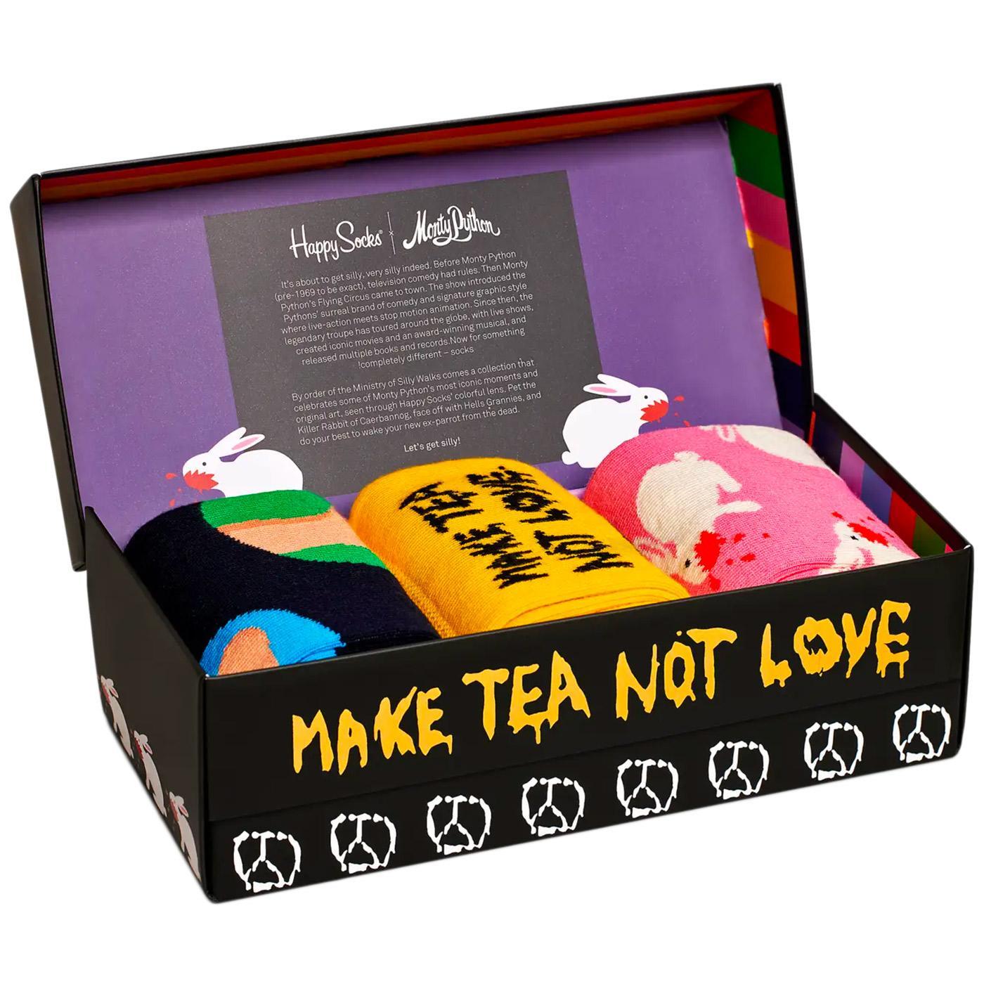 + HAPPY SOCKS x MONTY PYTHON 3 Pack Sock Gift Set