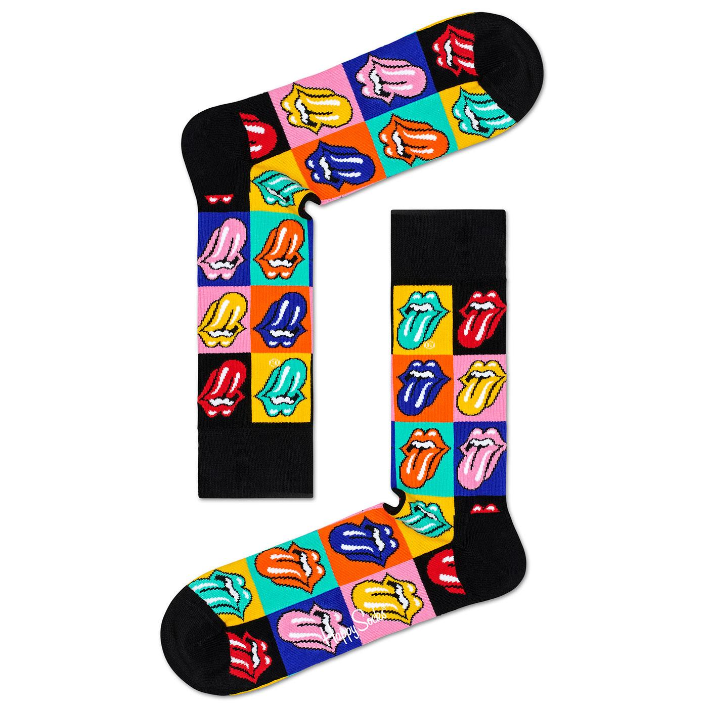 HAPPY SOCKS ROLLING STONES Jumpin Jack Flash Socks